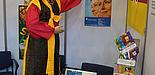 Foto: Stand der Universität Paderborn beim fünften International Festival der koreanischen EHWA-Frauenuniversität in Seoul