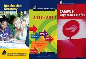 Abbildung: Titelseiten der drei Broschüren