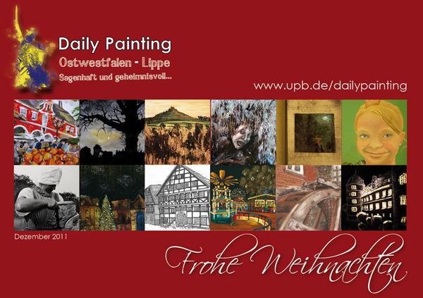 Abbildung: Karte Daily Painting OWL