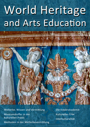 "Abbildung: Titelseite der digitalen Zeitschrift ""World Heritage and Arts Education"""