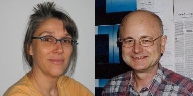 """Foto: Dr. Bettina Blanck und Dr. Werner Loh, Forschungsredaktion der Diskussionszeitschrift """"Erwägen Wissen Ethik"""" (EWE), vormals Ethik und Sozialwissenschaften (EuS) an der Universität Paderborn"""