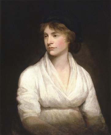 Abbildung: Mary Wollstonecraft, 1797, John Opie, National Portrait Gallery in London.