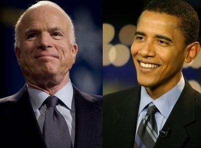 Fotos: John McCain und Barack Obama