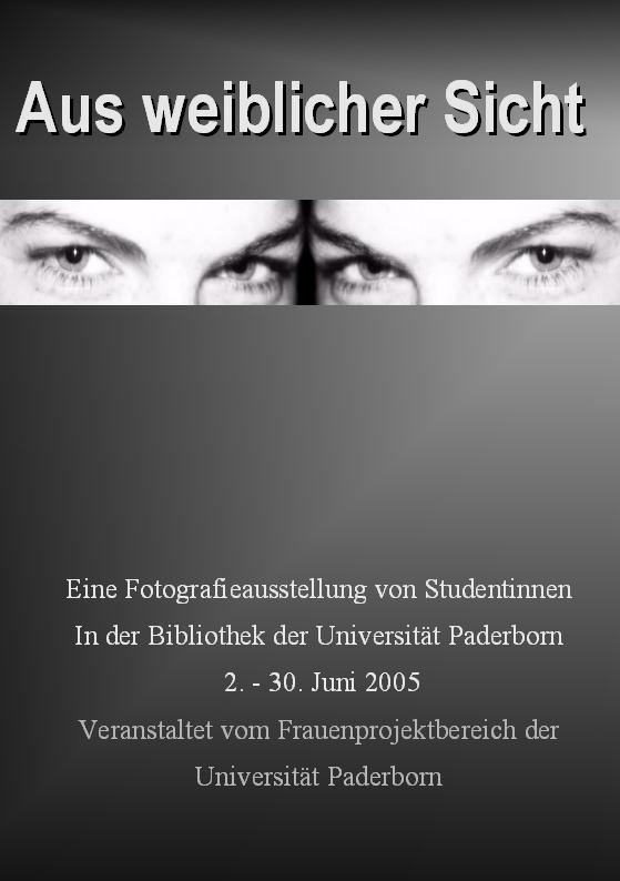 Abbildung: Plakat der Fotoausstellung