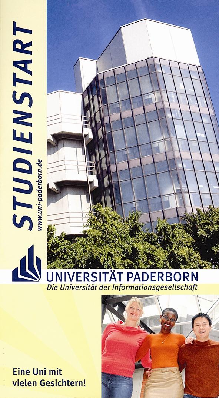 """Foto: Titelseite der Broschüre """"Studienstart"""""""