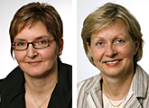 Gabriele Lang (left) and Ursula Appelbaum (right), Office